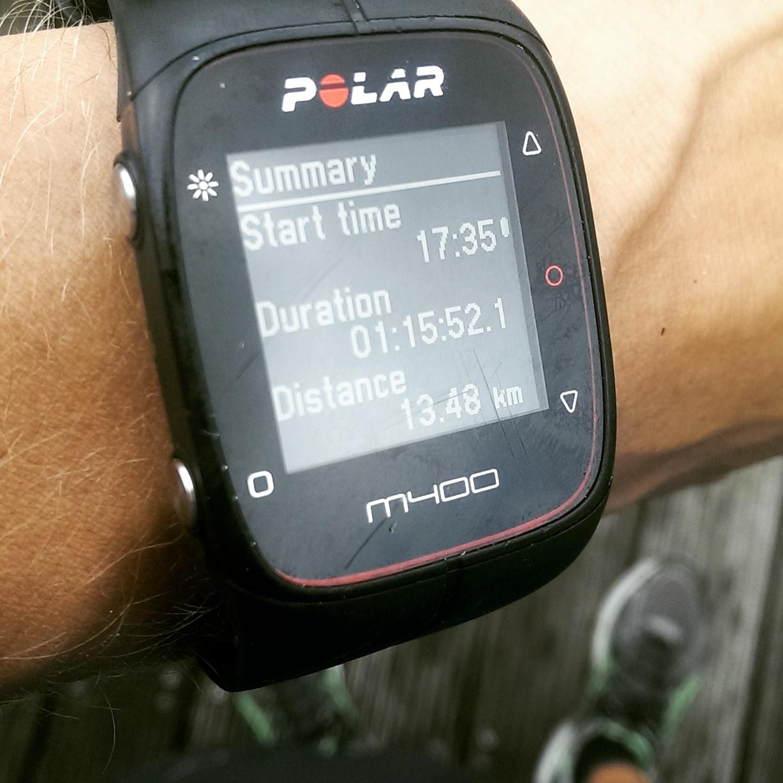 Een nieuwe hartslagmeter: De Polar M400